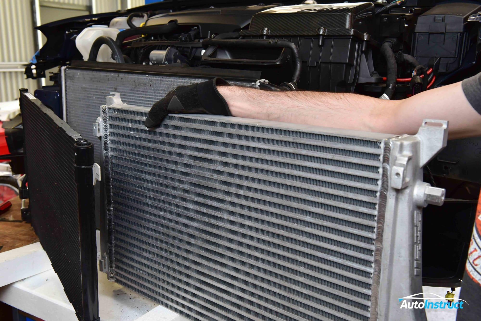 MK7 Golf Intercooler Install CTS