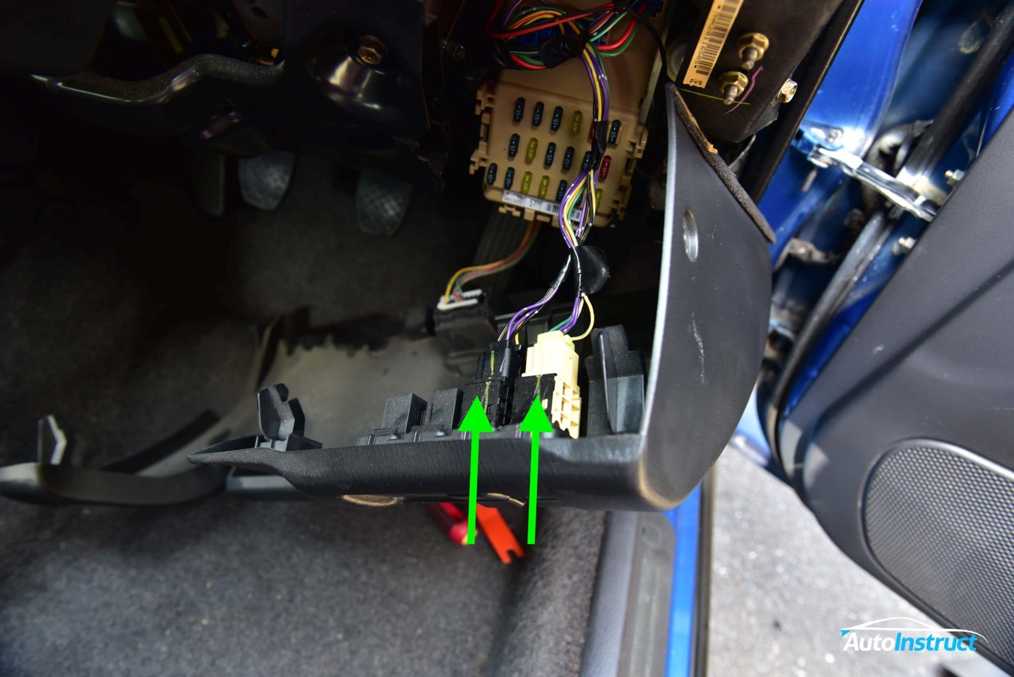 GC8 Impreza WRX Drivers Dash Trim Removal