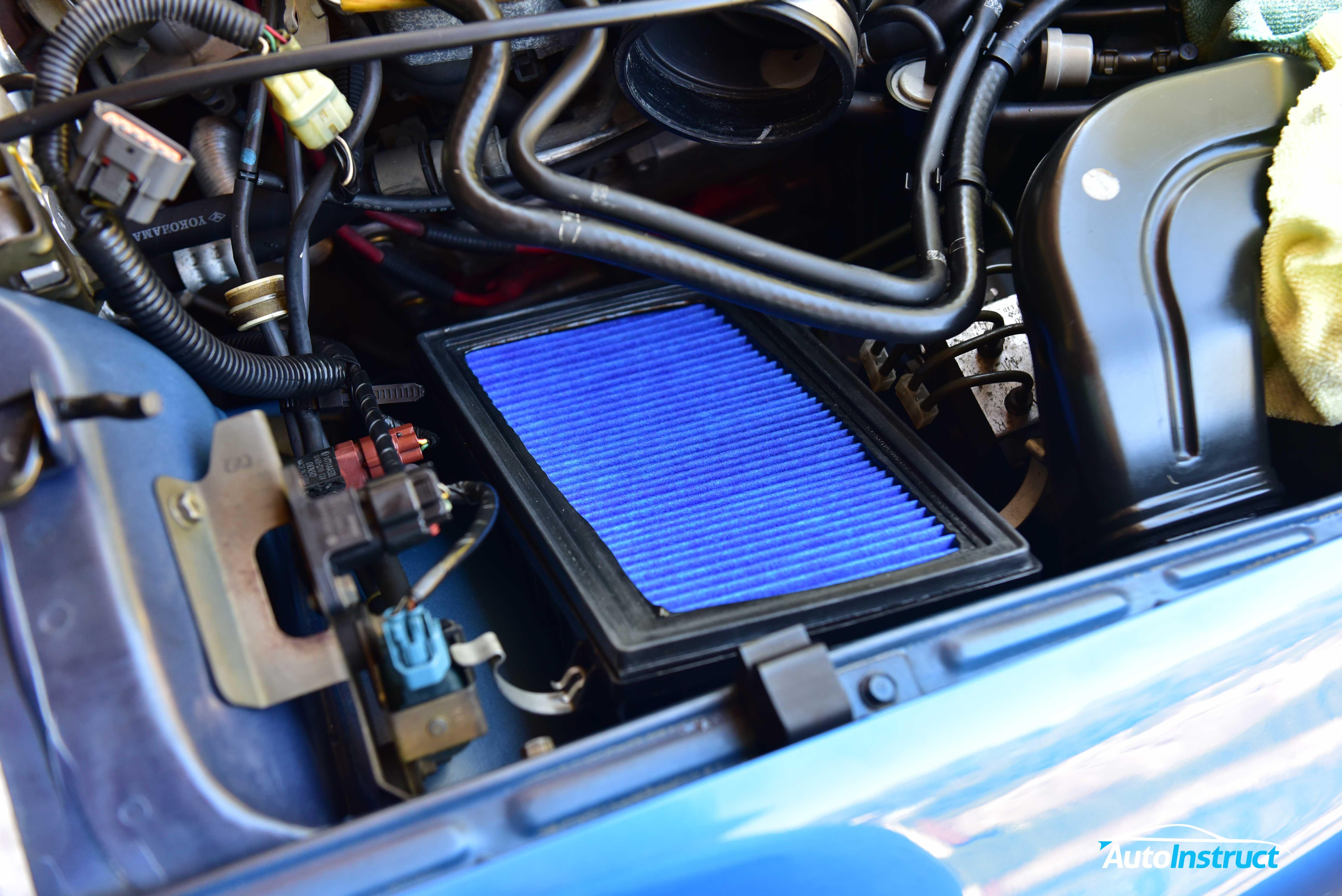 GC8 Impreza WRX Engine Air Filter Replacement