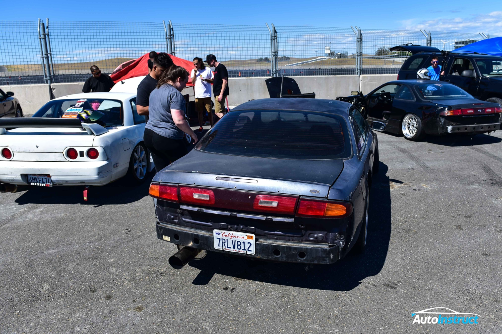Drifting at Thunderhill Raceway