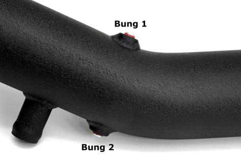 Burger Motorsports N54 Aluminium Charge Pipe