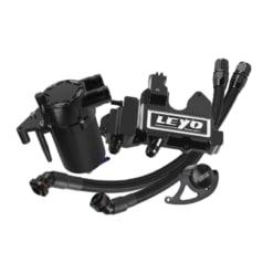 Leyo Motorsport Oil Catch Can Plus – VW Golf Mk7 R & Audi S3 8V (Black)