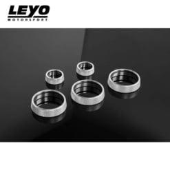 Leyo Motorsport Billet Aluminum Control Knobs (5 Piece)