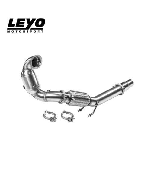 Leyo Motorsport High Flow Racing Downpipe (200 CELL)