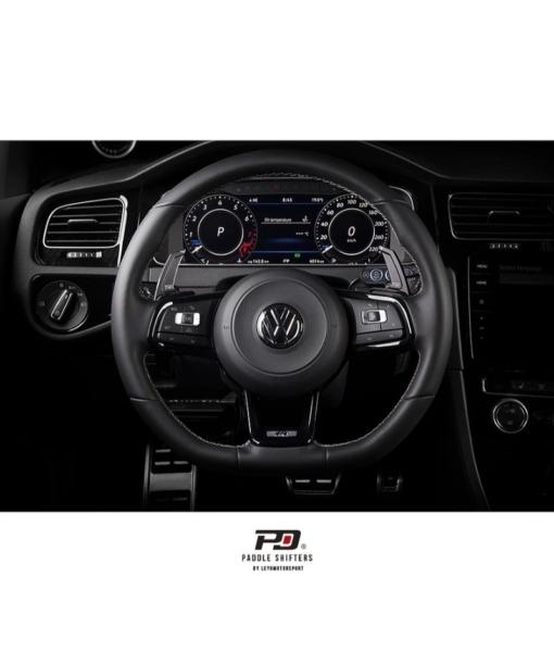 Leyo Motorsport VW MK7 Golf GTI / R Billet Paddle Shift Extension (Black)(Gen.2)