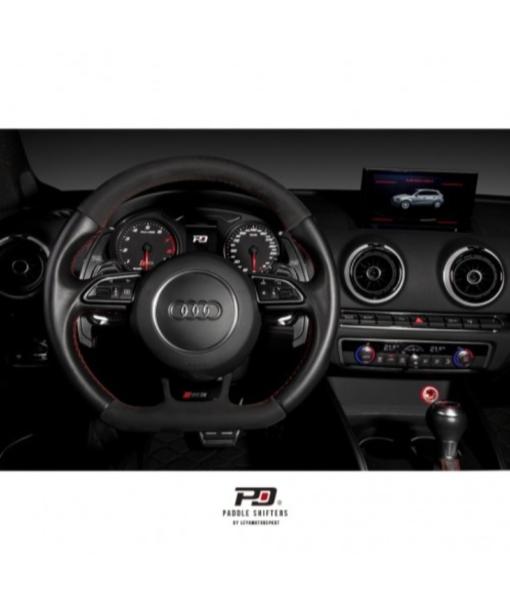 Leyo Motorsport Audi S Tronic Billet Paddle Shift Extension (Black)(v2)