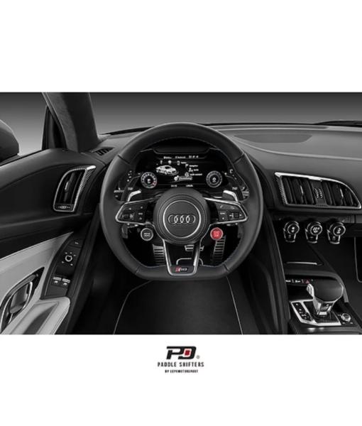 Leyo Motorsport Audi S Tronic Billet Paddle Shift Extension (Black)(v3)