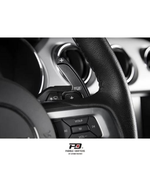 Leyo Motorsport Ford Mustang SelectShift Billet Paddle Shift Extension (Black)