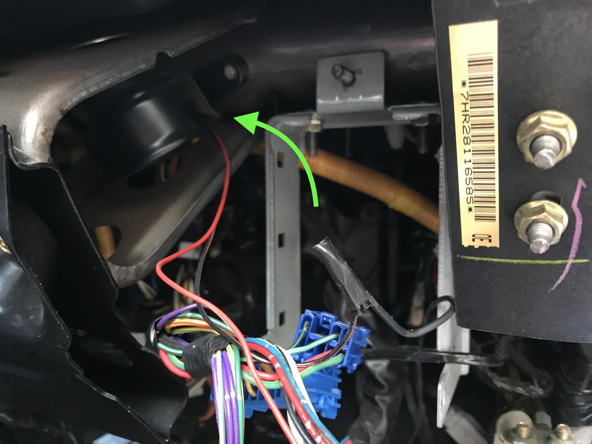 GC8 Impreza Brant Alarm Removal
