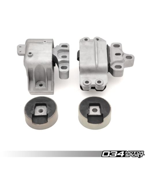 034Motorsport Motor Mount Set Density Line - VW MK5 & MK6, 8J & 8P AUDI, 3.2L VR6