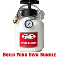 Motive Products Power Bleeder Bundle – Build Your Own!