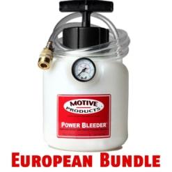 Motive Products 0100 Power Bleeder Bundle – European Vehicles