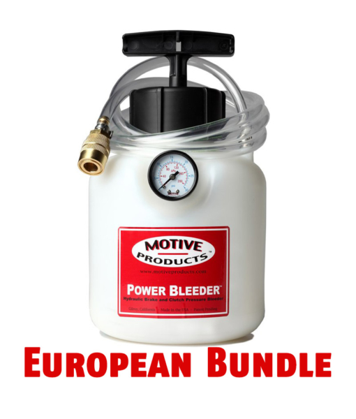 Motive Products Power Bleeder European Bundle