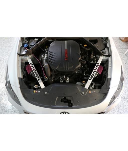 Burger Motorsports Kia Stinger Dual Intake