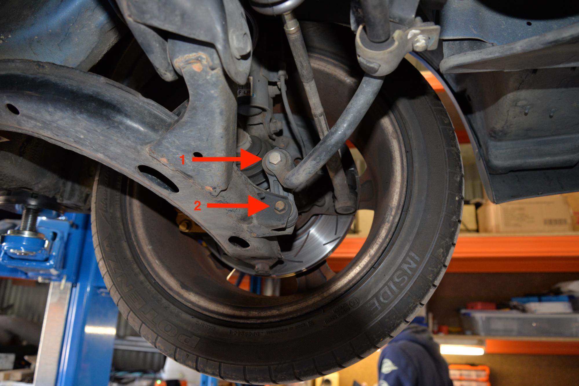 Front Sway Bar Removal – Subaru GC8 Impreza – AutoInstruct