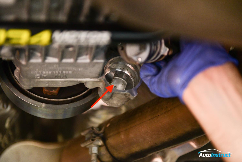 MQB MK7 Haldex Service Filter Clean