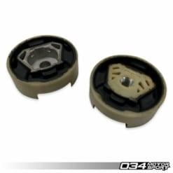 034Motorsport Street Density Dogbone Mount Pair – VW MK7 Golf/GTI/R, 8V AUDI A3/S3/RS3 (MQB)