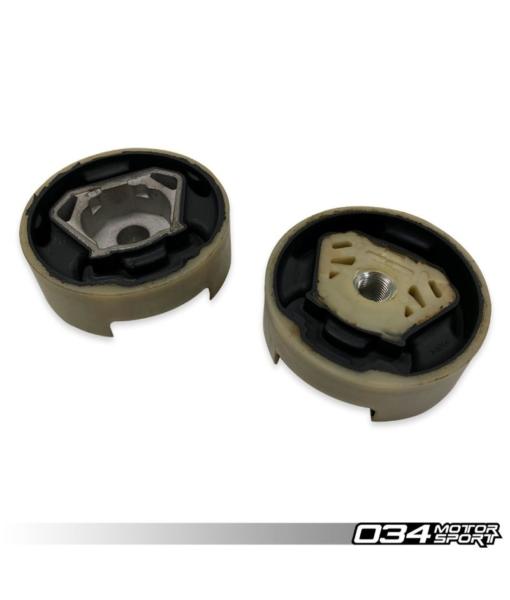 034Motorsport Street Density Dogbone Mount Pair - VW MK7 Golf/GTI/R, 8V AUDI A3/S3/RS3 (MQB)