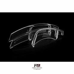 Leyo Motorsport VW MK7 / MK7.5 Golf GTI / R / MK2 Tiguan Clear Paddle Shift Extension (Gen.2)