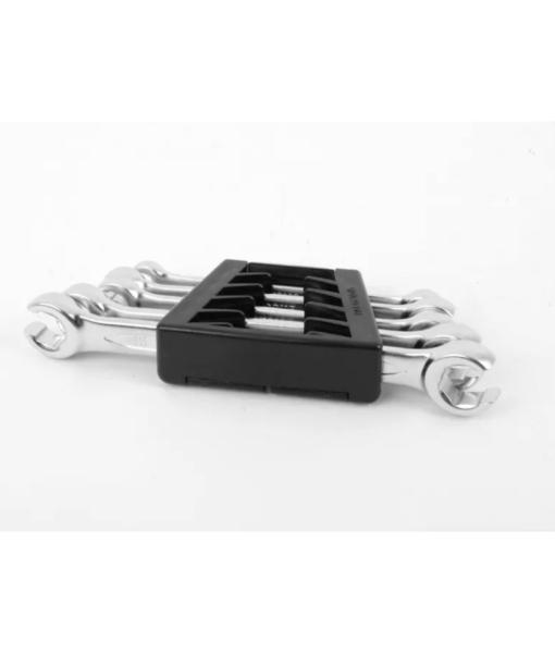 Schwaben Metric Double Head Flare Nut Wrench Set (5pc)