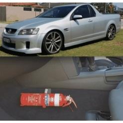 KAP Industries Fire Extinguisher Bracket – Holden Commodore VE